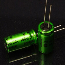 10PCS Japan NICHICON 100uF/50V High-end MUSE BP Audio Electrolytic Capacitor