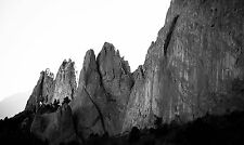 Rocks Cry Out - 16x20 - Black and White Photograph - Garden of the Gods Colorado