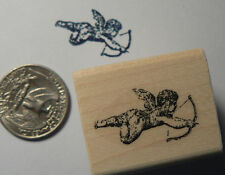 Cupid rubber stamp WM Miniature p24