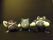 Pokemon TOMY Figures-Poliwag, Poliwhirl and Poliwrath *US Seller*