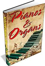 40 Piano & Organ Books on DVD- History, Construction, Tuning, Repair, Techniques
