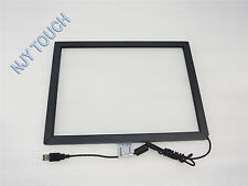 New 15 Inch Infrared Touch Screen Panel Frame USB Win 7/8 Drive Kit 2 point 4:3