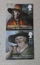 Royal mail a publié le disque-monde timbres nounou ogg & rincevent neuf sans charnière 1st classe