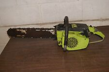 """Vintage Poulan 306A Chainsaw With 16"""" Bar And Chain, Starts"""