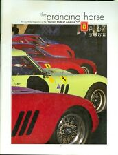2008 The Prancing Horse Newsletter of the Ferrari Club of America #167
