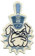 "THE CITADEL BULLDOGS NCAA COLLEGE 6 3/4"" LOGO PATCH"