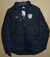 NWT MENS L LG NIKE TEAM USA US SOCCER SIDELINE PARKA WARM JACKET COAT WINTER