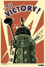 Doctor Who Dalek To Victory 24x36 Poster Print Wall Art Home Decoration TV Show