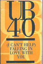 UB 40 I CAN'T HELP FALLING IN LOVE WITH YOU CASSETTE single Lovers Rock Reggae-