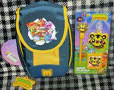 NINTENDO DSi & 3DS - MOSHI MONSTERS - CARRY CASE & JEEPERS STYLUS PACK