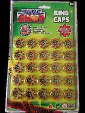 75X 8 Shot Ring Caps on 2 cards which = 600 individual shots in all. Fits Guns