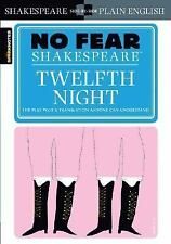 NEW Twelfth Night (No Fear Shakespeare) by William Shakespeare Paperback