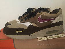 2003 NIKE AIR MAX 1 B ATMOS VioTech US 9 UK 8 EU 42,5 MINI JEWEL 302740-251