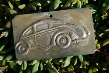 VERY NICE VINTAGE AUTOMOBILE CAR PLAQUE / SIGN # VOLKSWAGEN KÄFER THE BEETLE