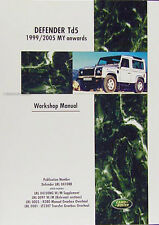 Land Rover Defender Td5 Repair Shop Manual 1999 2000 2001 2002 2003 2004 2005