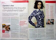 Femme Actuelle 2014:  CHARLOTTE LE BON