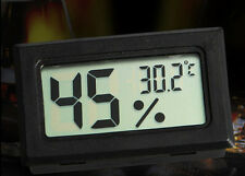 For Indoor Outdoor Digital LCD Humidity Temperature Thermometer Meter RGAC