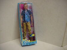 NEW 2013 FASHIONISTA KEN DOLL - BLONDE/PAINTED/MOLDED HAIR - BARBIE FRIEND -NRFB