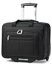 Samsonite Classic Wheeled Business Case Laptop Briefcase - Black