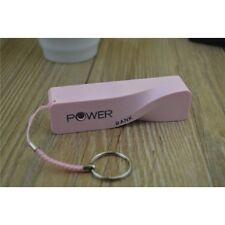POWER BANK PORTATILE ESTERNO 2600 mAh CARICABATTERIA USB per iPhone Samsung