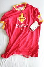 New Sugoi Bellini Women's Cycling Bike Jersey X-Large Red NWT XL Short Sleeve