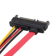 Male to Female 7+15 Pin Serial ATA SATA Data power combo extension Cable HA