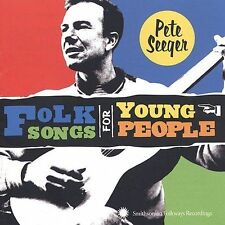 Pete Seeger-Folk Songs for Young People CD NEW