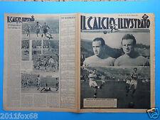 1949 il calcio illustrato n. 12 inter pro patria valentino mazzola amedeo amadei