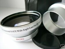 KAW SL 52mm 0.45X Wide-Angle Lens+Adapter Tube For CANON A590 A570 IS Camera