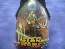 Star Wars Jedi Master Fit Fisto Action Figure 2005 NIB