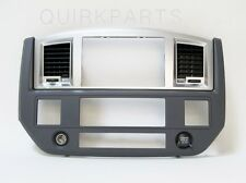 2006-2009 Dodge Ram Radio Dash Bezel SLATE GRAY MOPAR GENUINE OEM BRAND NEW