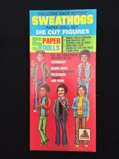 Vintage 1977 Welcome Back Kotter & Sweathogs Punch Out Doll Paper Dolls Uncut