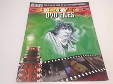 DOCTOR WHO DVD FILES MAGAZINE - PART 61 - ENCYCLOPEDIA - HORROR OF FANG ROCK