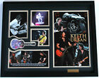 New Keith Urban Signed Limited Edition Memorabilia Framed