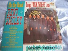 Original Bluegrass Country LP : Reno Smiley ~ On The Road ~ Songs Truck Drivers
