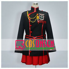 Cosonsen D Gray Man Lenalee Lee New Version Uniform Black Red Cosplay Costume