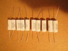 10 Ea Sprague SBE 3.3 uF 200V polypropylene speaker crossover capacitor