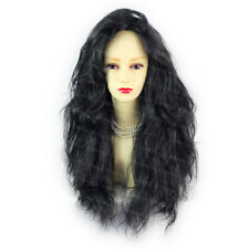 Romantic SEXY Wild Untamed Long Curly Wig Black Ladies Wigs from WIWIGS UK