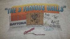Vintage 90's PINK FLOYD (3 FAMOUS WALLS) T-Shirt XL Daytona Racing THE WALL rare