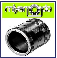 Macro Extension Tubes Lens Adapter for Olympus Micro 4/3
