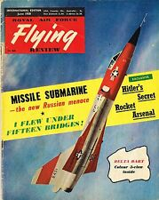 RAF FLYING REVIEW INT ED JUN 58 FACSIMILE: F106 DART/VAUTOUR CUTAWAY/ BALKAN WAR
