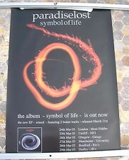 PARADISE LOST Symbol Of Life 2002 double sided poster 33 x 23  original