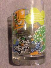 Disney Mug Cup Glass Mickey Goofy Pixar  Pocahontas Lion King Robin Hood
