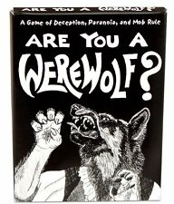 Are You a Werewolf Card Game  Looney Labs Studio Brand New