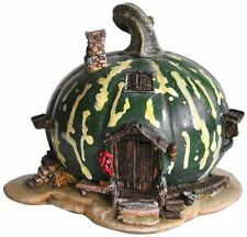 Green Gourd Pumpkin Fairy House Statue (4193)  ~ NEW in Box Fairy Garden