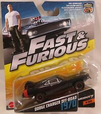MATTEL Fast and Furious 1970 Dodge Charger Off-Road