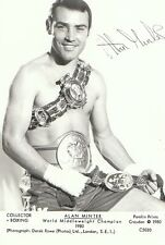 Sport Postcard - Boxing - Alan Minter - World Middleweight Champion 1980  2262