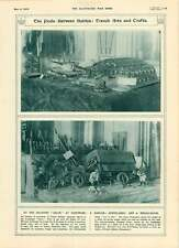 1916 Poilu Trench Arts And Crafts Compiegne Soldiers Salon Figurines