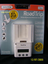 GRIFFIN RoadTrip FM Transmitter & Auto Charger 4 iPod