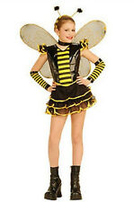 Tweens Girls QUEEN BEE Complete Costume BumbleBee Bug Insect  Large 12-14 tutu